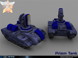 Red Alert Alliance Prism Tank